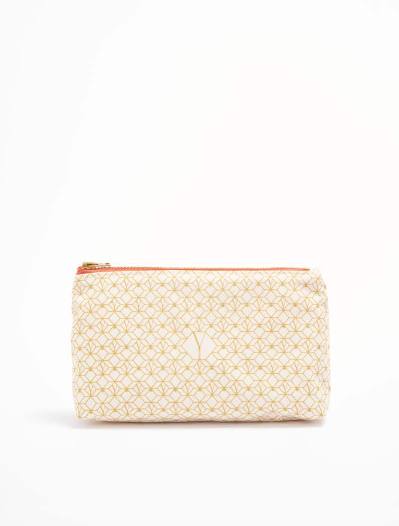 the natural beauty routine pouch
